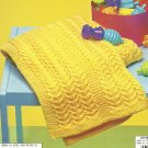 **Terrific Textures - 5 Afghans to Knit for Baby or You