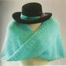 The Portable Crafter - Crochet - Gift Items - Moebius Wrap - Roses Afghan+