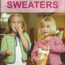 **Fun Time Sweaters - 5 Knit Designs Sizes 2 - 10