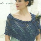 ** Soft Back Knitting Book - Lace and Beaded Shawl - Shrugs -