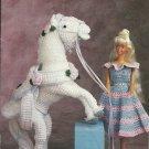 *Annie's Attic - Fashion Doll Dress and Dream Horse