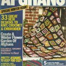 Vintage Afghan Magazine - 33 Designs - Special Winter Issue