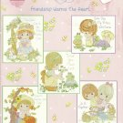 *PRECIOUS MOMENTS *12* FRIENDSHIP WARMS THE HEART  Designs by Gloria & Pat
