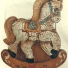 Cookie Jar Lid Painting Pattern - Rosemary West - Antique Rocking Horse