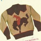 Knit O Graf - Child's Mailorder pattern - 1952