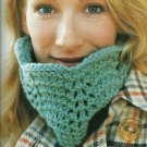 ** Hard Back Knitting Book - Lacy Cowl - 10 pictures