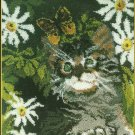 "** Latch Hook pattern - Kitten  - 30"" X 36"""