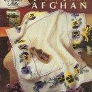 Pretty Pansy Afghan - Annie's Attic - 1999