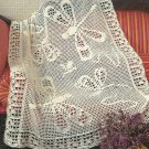 Crochet Filet Afghans - 5 Designs - Dragonflies in Flight
