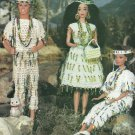 Crochet World 1996 - Indian Maiden & Friends