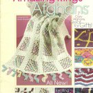 Amazing Rings Afghans - Crochet-Tatting - by Annie's Attic