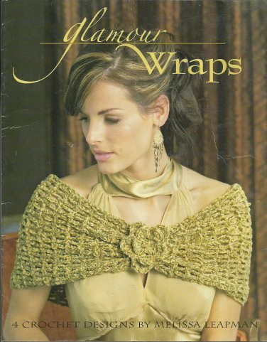 Crochet Glamour Wraps by Melissa Leapman