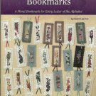 Cross Stitch Bookmarks ~ Designs for Every Letter of The Alphabet