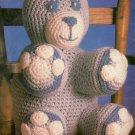 Hooked on Crochet #1 - Bear - Mittens - Winter Flowers Afghan