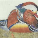 * Mandarin Wood Duck CROSS STITCH SNICKERDOODLE BY DIMPLES