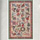 * CHRISTMAS ALPHABET Cross Stitch Patterns Vermillion Giampa