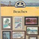 OOP HTF ** BEACH ~ DMC Cross Stitch * 9 * BEACHES Jeanette Crews designs