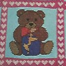 Country Crochet 1989 / Bear Afghan-Country Critter Afghan/ Old McDonald's Farm Afghan