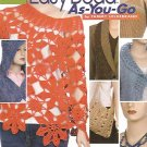 Crochet Easy Bead-As-You-Go - Annie's Attic - Poncho - Hoodie - 11 Projects