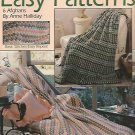 Crochet 6 Easy Afghan Patterns by Anne Halliday