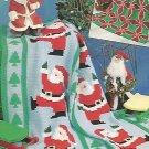 OOP - HTF - Crochet 4 Happy Holiday Afghans - Annie's Attic