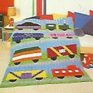 Crochet Train Afghan Pattern - Plus 50 more to Crochet and Knit