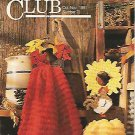 Annie's  Quick and Easy Pattern Club - Cactus Flower Afghan -