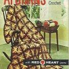 Knit/Crochet Vintage Afghan Booklet - 1961