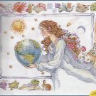 * MOTHER EARTH Cross Stitch Kit - Janlynn 2000