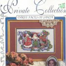 * SANTAS cross stitch pattern Alma Lynn's Designs THREE FACES OF SANTA