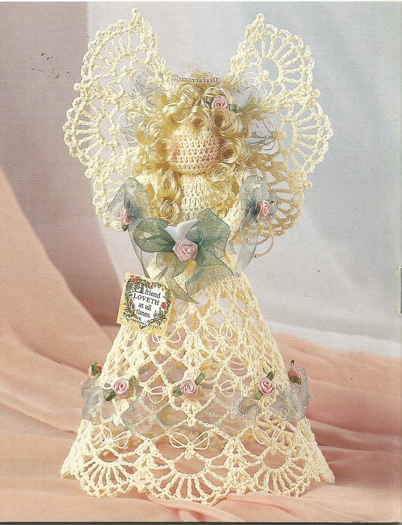 **Crochet Annie's Attic Angel + 8 Inspirational Celebrations