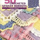 50 Crocheted Afghan Borders by Jean Leinhauser
