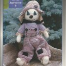 "Crocheted Sweet Scarecrow - Single Pattern - 19"" tall"