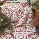 *Annie's Crochet Quilt & Afghan Club - Hearts and Diamonds