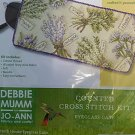 *Cross Stitch Kit  HERB HOUSE EYEGLASS CASE ~ DEBBIE MUMM HTF