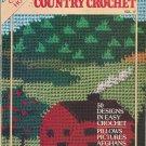 McCall's Country Crochet - 50 Designs - Scrap Afghans - Cross Stitch - Filet Crochet Bedspread