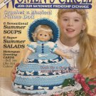Musical Pillow Doll - Women's Circle Mag -1988 - Crocheted State Dolll Pattern
