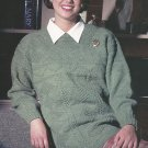 Cast On Knitting Magazine 1995 - Guernsey Sweater - Zebra Pullover and Bag