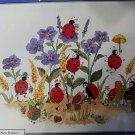 * Cross Stitch Kit  LADYBUG GARDENERS Candamar Designs