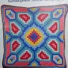 *Needlepoint Kit GEOMETRIC FLOWER SAMPLER Candamar Designs