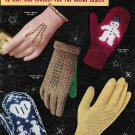 Knitted/Crocheted Gloves and Mittens 1953