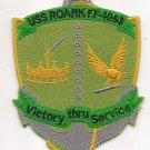 US Navy FF-1053 USS Roark Patch