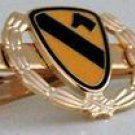 US Army 1st Cavalry Division First Team Tie Clip