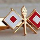 US Army Signal Corps Tie Clip
