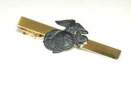 USMC United States Marine Corps SUBDUED Tie Clip