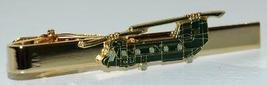 US Army CH-47 Chinook Helicopter Tie Clip