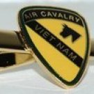 US Army 1st Air Cavalry Vietnam Tie Clip