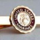 USMC United States Marine Corps LOGO Tie Clip