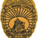 USMC USMC MP Military Police Patch