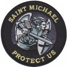 USMC Saint Michael Protect Us Patch
